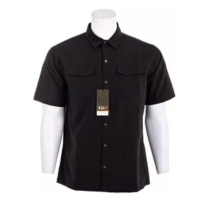 5.11 Tactical Mens Freedom Flex Short Sleeve Shirt